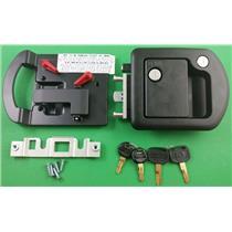 RV Motorhome Entry Door Lock 60-650 Trimark Black 060-1650 60-1650