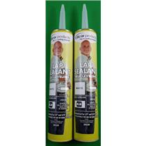 Dicor Lap Sealant White RV Camper Rubber Roof Repair Self Leveling 501LSW 2-Pack