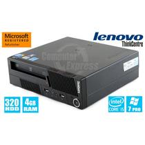 Lenovo ThinkCentre SFF M90p 3269A8U Core i5 3.2GHz 4GB 320GB DVDRW Win7 Pro [56]