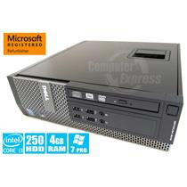 Dell Optiplex 390 SFF Core i3 3.1GHz 250GB 4GB DVDRW Windows 7 Pro [56]