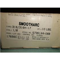 NIB Hobart Smootharc Premium Stick Electrodes 316H-17 Dia.:1/8(10lbs)