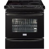 """Frigidaire Gallery Series FGES3065KB 30"""" Slide-in Smoothtop Electric Range"""