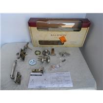 Baldwin 180 WYHXATK Prestige Wesley Satin Nickel Handleset Entry Knob, Smart Key