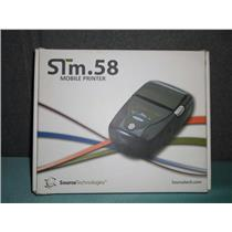 New Source Technologies STm.58bm Mobile Printer Lightweight Compact Design