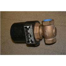 "3/4"" Magnatrol 18N13H Hot Water Valve 120V 60Hz 25Watts Bronze"