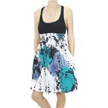 S NWT Matty M Mock 2-Piece Racerback Empire Tank Dress Neptune Silk Print Skirt