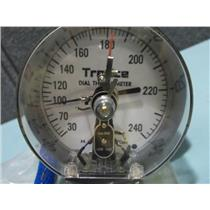 New H.O. Trerice Dial Thermometer 30-240 F Max