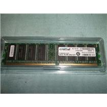 NEW CRUCIAL CT12864Z335.K16TY 1GB 184 PIN DIMM 128MX64 DDR PC2700 MODULE