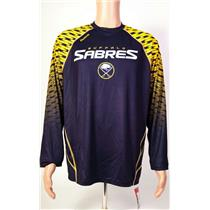 Reebok NHL Face Off Buffalo Sabers Shirt Men's