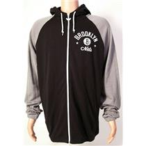 Adidas Brooklyn Nets Basketball ZIp Hoodie Men's