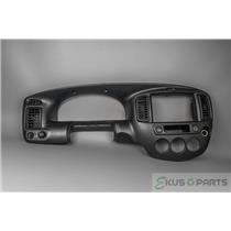 2001 Mazda Tribute LX 4x4 Dash Trim Bezel with Vents, 12v, and 4WD Lock