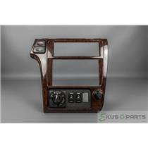 2001 Nissan Pathfinder Radio Climate Dash Trim Bezel with 4wd and Heat Switches