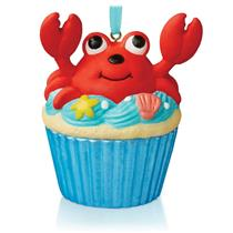 Hallmark Series Ornament 2015 Keepsake Cupcakes #1 - A Little Crab Cake #QHA1036