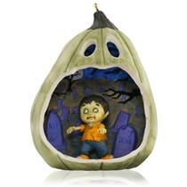Hallmark Series Ornament 2015 Happy Halloween #3 - Spooky Zombie - #QFO5247