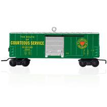 Hallmark Keepsake Ornament 2015 Seaboard Boxcar - Lionel Trains - #QXI2537-DB