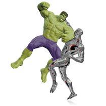 Hallmark Ornament 2015 The Hulk vs. Ultron - Avengers: Age of Ultron -QXI2669-DB