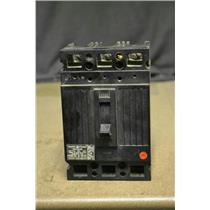 GE TED134040 Circuit Breaker, 3 Pole, 40 Amp, 480 Volt, Used