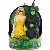 Carlton Heirloom Magic Ornament 2015 WICKED - One Short Day - #CXOR074H