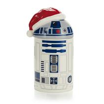 Hallmark Exclusive 2014 Star Wars R2-D2 Caroling Treat Jar with Sound - #XKT1463