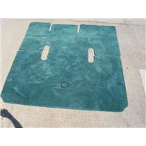 Boaters' Resale Shop Of Tx 1507 0957.25 FOUNTAIN 38 BOAT GREEN MARINE CARPET