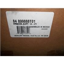 New Mercury 84-898101423 Harness ADPT 14-21 Factory Part