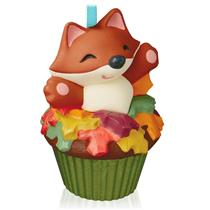 Hallmark Series Ornament 2015 Keepsake Cupcakes #2 - Sly and Sweet - #QHA1037