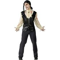 Bloody Vampire Adult Costume with Wig