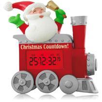 Hallmark Magic Ornament 2014 Christmas Countdown - Santa in Train - #QGO1666-SDB