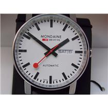Mondaine Swiss Railways Watch EVO Big. Mechanical Automatic Swiss Movement