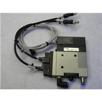 SMC NZM131HT-K5LZ-E55L Vacuum Generator, High Pressure/DC ZM Vacumm Style