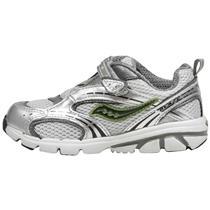Saucony Baby Blaze A/C Grey 6M Shoes