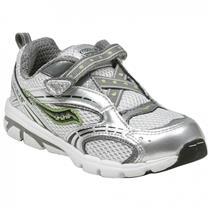 Saucony Baby Blaze A/C Grey Kids 7.5M Shoes