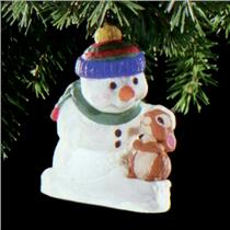 Hallmark Series Ornament 1998 Snow Buddies #1 - #QX6853