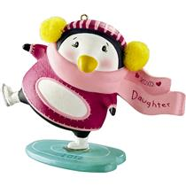 Carlton American Greetings Ornament 2012 Daughter - Penguin - #CXOR010B-SDB