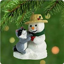 Hallmark Series Ornament 2001 Snow Buddies #4 - #QX6972-SDB