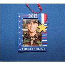 Hallmark Direct Imports Ornament 2013 Patriotic American Hero Frame - #DIR4312