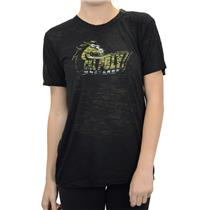 NWT Majestic Thread Black Burnout Cal Poly San Luis Obispo T-shirt Go Mustangs