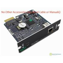 APC AP9630 NMC Smart-UPS Network Management Card 2 RJ-45 10/100Base-T, No Cable