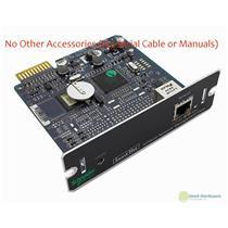 APC AP9630 NMC Smart-UPS Network Management Card 2 RJ-45 10/100Base-T, No Cable