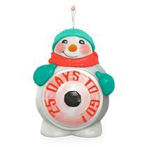 Hallmark Magic Ornament 2015 Countdown to Christmas - Snowman - #QGO1449