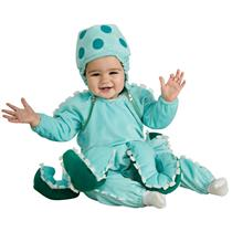 Rubie's Costume Deluxe Octopus Infant Baby Costume 6-12 months