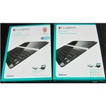 2 x Logitech Ultrathin Keyboard Covers for iPad 2 iPad (3rd & 4th Generation)