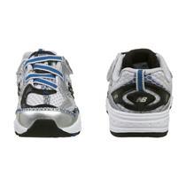 New Balance Infants Shoes 686 Silver Blue Black Size 5 Wide NIB