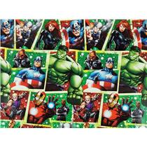 MARVEL Avengers Officially Licensed Wrapping Paper Roll - 40 Square Ft W15-17658