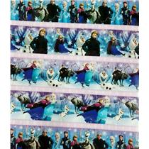 The Cast of Disney's Frozen Wrapping Paper Roll - 40 Sq Ft - #W15-17649-FRZN