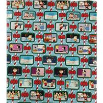 The Peanuts Gang Gift Wrapping Paper Roll - 40 Square Feet - #W15-17659