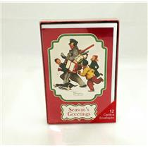 American Greetings Norman Rockwell Season's Greetings Boxed Cards - #RXB22480