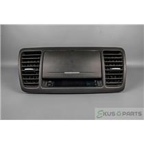 2005-2009 Subaru Legacy  Vent Dash Trim Bezel with Clock and Storage