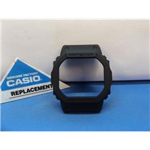 Casio Watch Parts DW-5600 E All Black Bezel/Shell.Also fits: -BB,-B, MS-1, NH-1