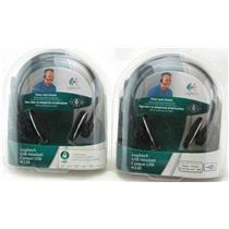 2 x Logitech USB Headset H330 981-000127